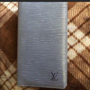 EUC authentic Louis Vuitton checkbook wallet